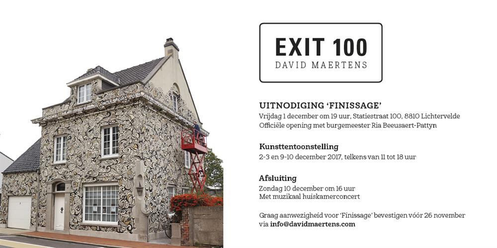 Exit 100 Finissage